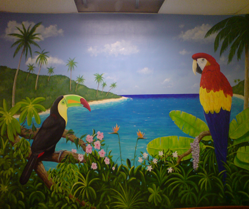 Wall Murals - Jungle Island